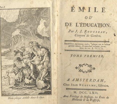El Emilio o la educación (Rousseau)